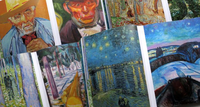 Munch : Van Gogh - vier vergelijkingen van schilderijen