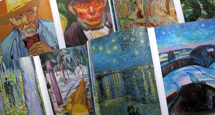 Van Gogh Munch – blog