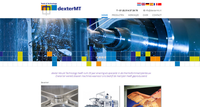 dexter MT website - blogfoto