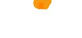 Tint-logo-wit+oranje punt-170 px breed