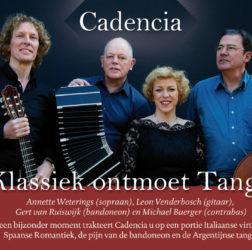 Cadencia - flyer A6