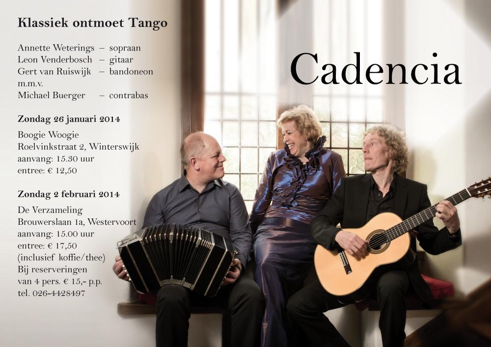 Cadencia – poster A3
