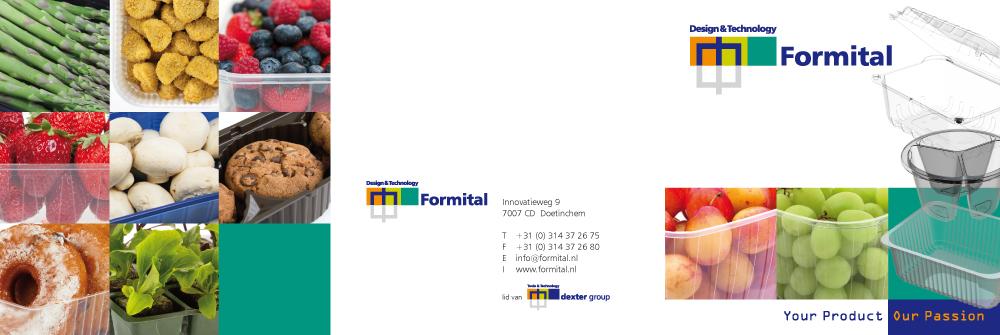 Tint – port – Formital – folder buitenzijde – 3-slag gevouwen tot carré 148 mm