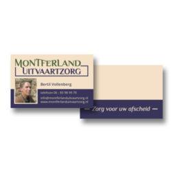 Montferland Uitvaartzorg - visitekaartje