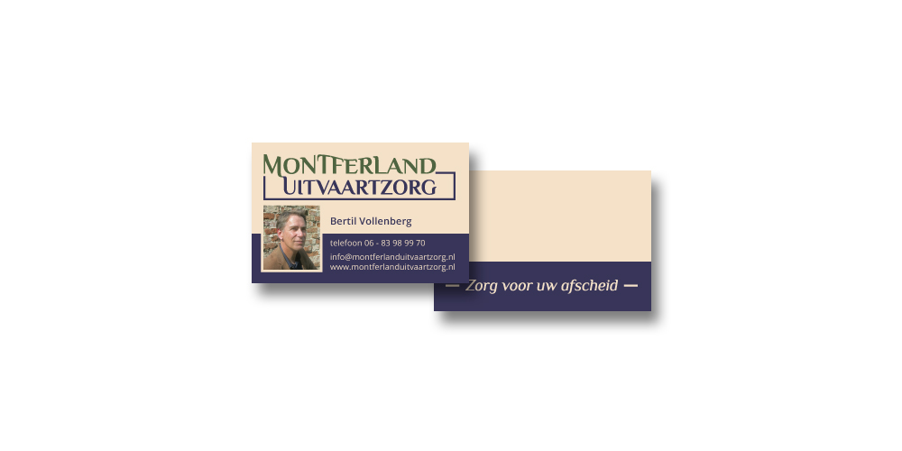 Montferland Uitvaartzorg – visitekaartje