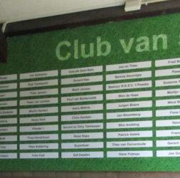 Voetbalvereniging 't Peeske - sponsorwand - Club-van-50