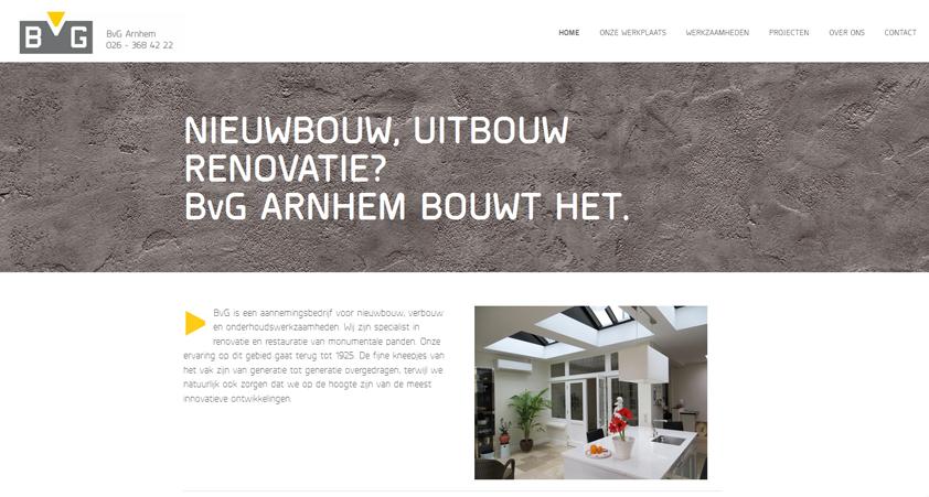 BvG Arnhem website – blog