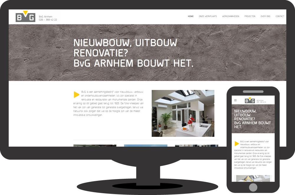 BvG Arnhem - website