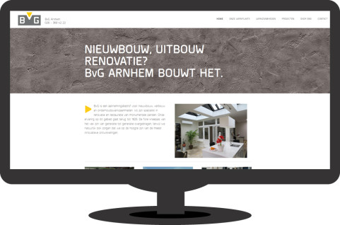 BvG Arnhem - website