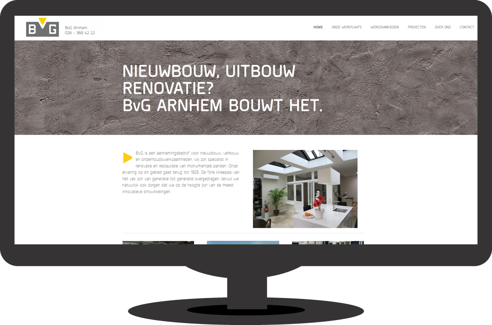 BvG Arnhem – website