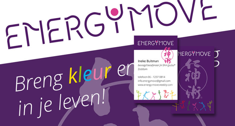 Energy Move - blog - huisstijl en flyer