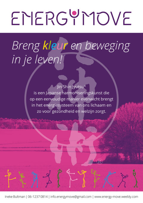 Energy Move - Flyer A5 voorzijde