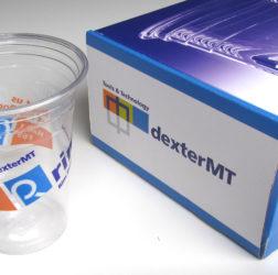dexter MT - bedrukking Rrim-beker + verpakkingsdoos