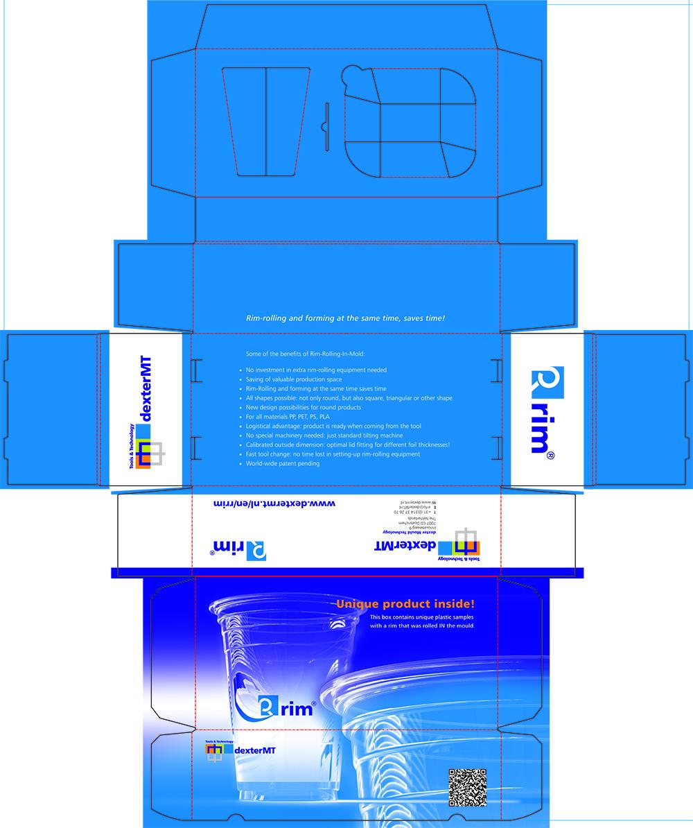 dexter MT – verpakkingsdoos werktekening