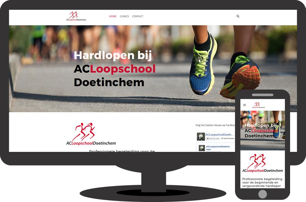 ACLoopschoolDoetinchem – website
