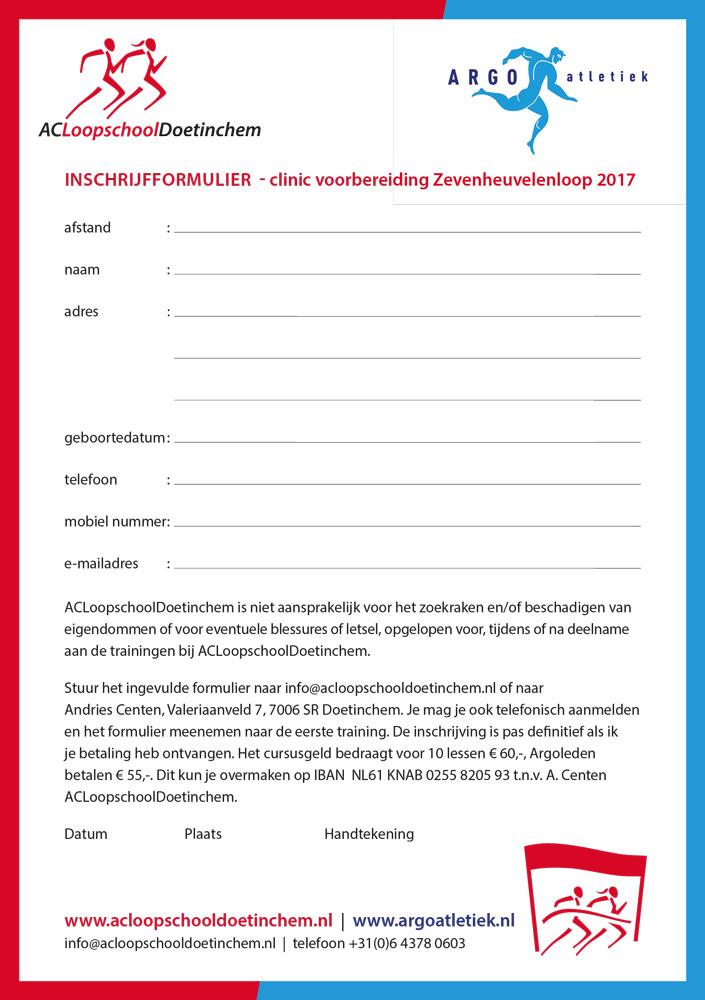 ACLoopschoolDoetinchem – flyer – Zevenheuvelenloop 2017 – achterzijde