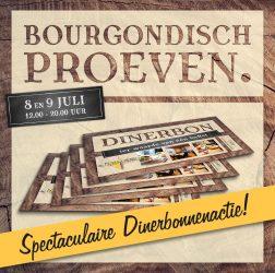 De Bourgondiër - Bourgondisch Proeven. - Facebookbericht - Spectaculaire-Dinerbonnenactie