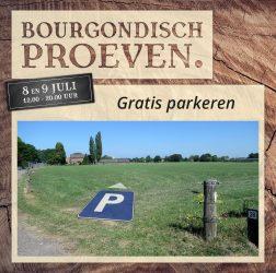 De Bourgondiër - Bourgondisch Proeven. - Facebookbericht - Gratis-parkeren