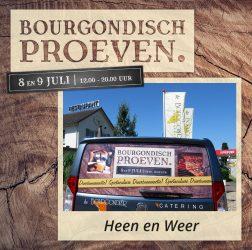 De Bourgondiër - Bourgondisch Proeven. - Facebookbericht - Heen-en-weer