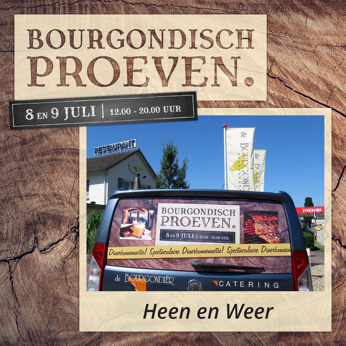 De Bourgondiër – Bourgondisch Proeven. – Facebookbericht – Heen-en-weer