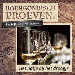 De Bourgondiër - Bourgondisch Proeven. - Facebookbericht - Het-natje-bij-het-droogje