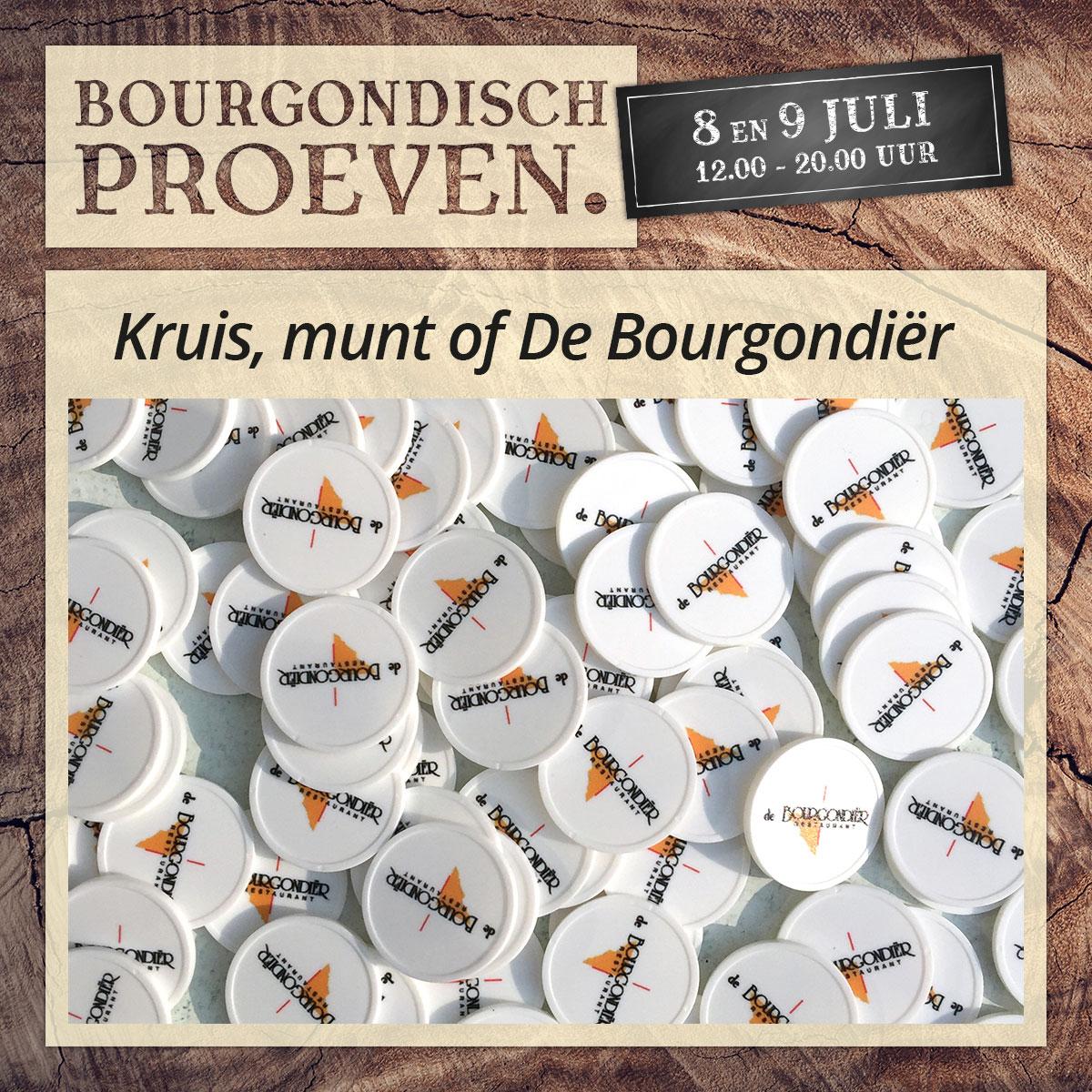 De Bourgondiër – Bourgondisch Proeven. – Facebookbericht – Kruis-munt-of-De-Bourgondiër