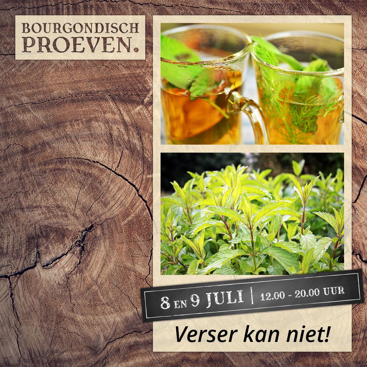 De Bourgondiër – Bourgondisch Proeven. – Facebookbericht – Verser-kan-niet!