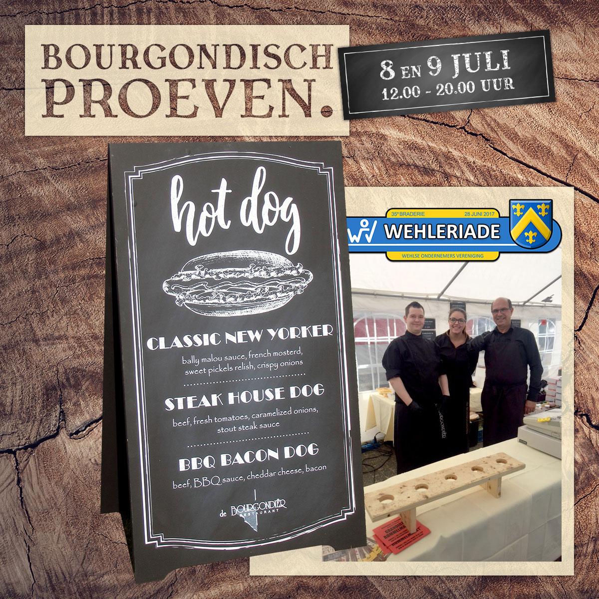 De Bourgondiër – Bourgondisch Proeven. – Facebookbericht – Wehleriade