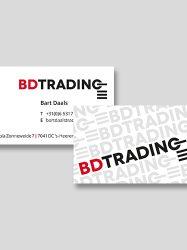 BDTrading - visitekaartje