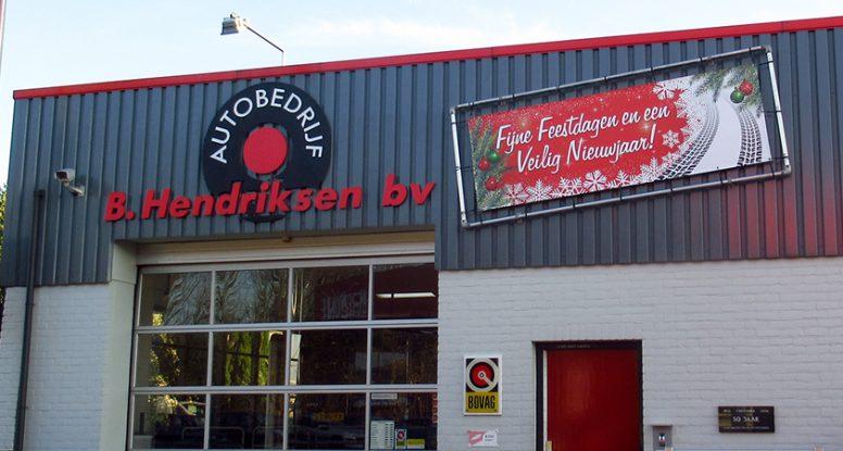 Hendriksen - Fijne Feestdagen en een Veilig Nieuwjaar!
