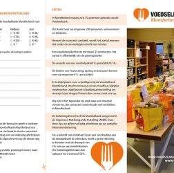 Voedselbank Montferland - folder - buitenzijde
