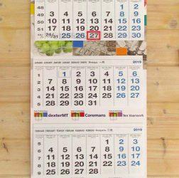 dexter Group - 4-maandskalender