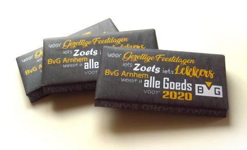BvG Arnhem - Feestdagen - chocoladewikkel