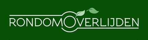RondomOverlijden-logo-wit+tinten+groene achtergrond